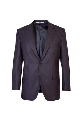 Erkek Giyim - Füme Gri 54 Beden Klasik Kuşgözü Ceket
