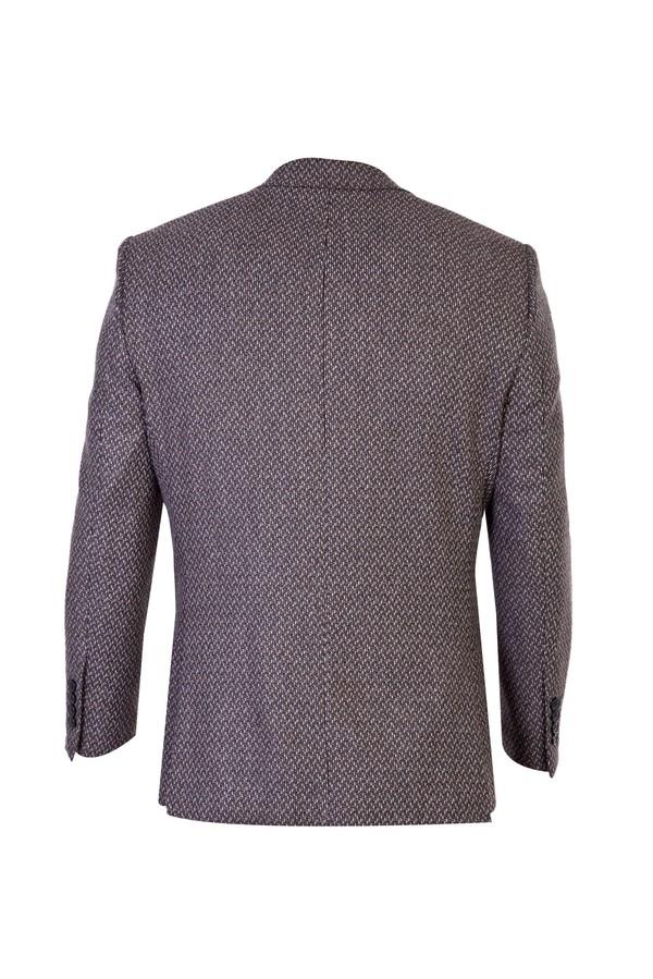 Yünlü Desenli Ceket