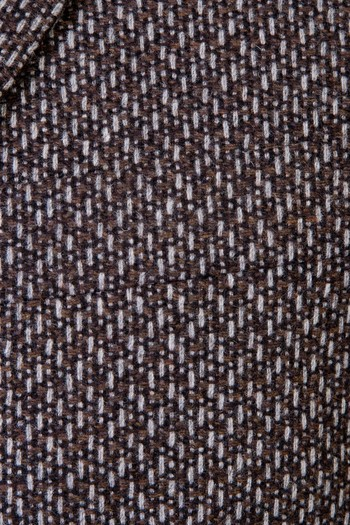 Erkek Giyim - Yünlü Desenli Ceket