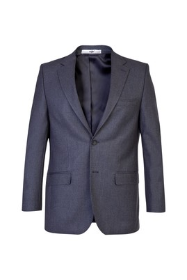 Erkek Giyim - Orta füme 54 Beden Klasik Kuşgözü Ceket