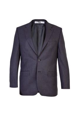 Erkek Giyim - Füme Gri 50 Beden Klasik Kuşgözü Ceket