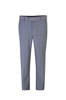 Erkek Giyim - Orta füme 52 Beden Yünlü Klasik Pantolon