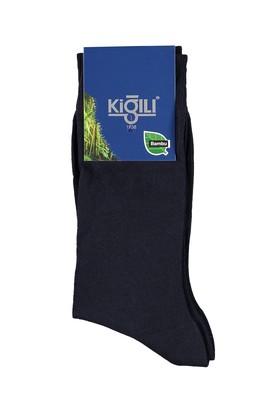 Erkek Giyim - Lacivert 42 Beden Bambu Çorap