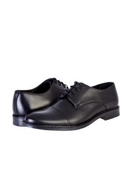 Erkek Giyim - Siyah 43 Beden Bağcıklı Klasik Ayakkabı