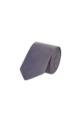 Erkek Giyim - Orta füme 65 Beden İnce Desenli Kravat