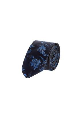 Erkek Giyim - Lacivert 165 Beden İnce Desenli Kravat