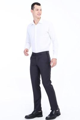 Erkek Giyim - ANTRASİT 46 Beden Slim Fit Klasik Pantolon