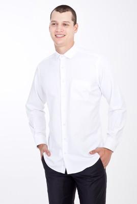 Erkek Giyim - BEYAZ XXL Beden Uzun Kol Klasik Gömlek