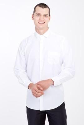 Erkek Giyim - BEYAZ 3X Beden Uzun Kol Klasik Gömlek