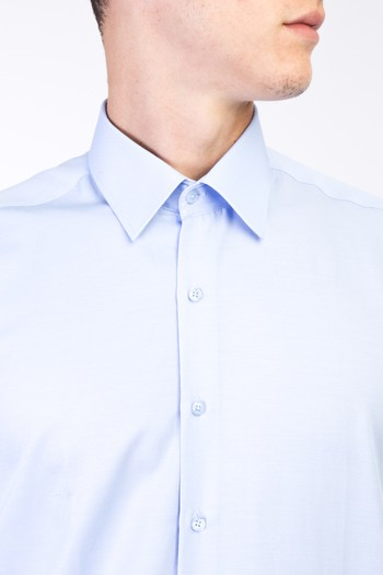 Erkek Giyim - Uzun Kol Saten Gömlek