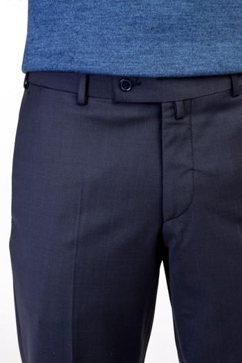 Erkek Giyim - Yünlü Ekose Pantolon