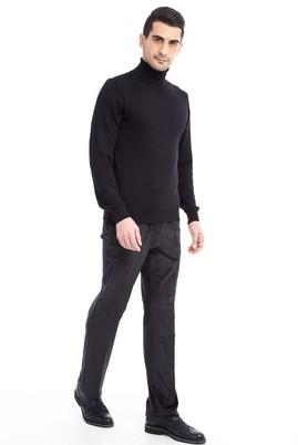 Erkek Giyim - Füme Gri 54 Beden Kadife Pantolon
