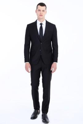 Erkek Giyim - SİYAH 56 Beden Klasik Takım Elbise