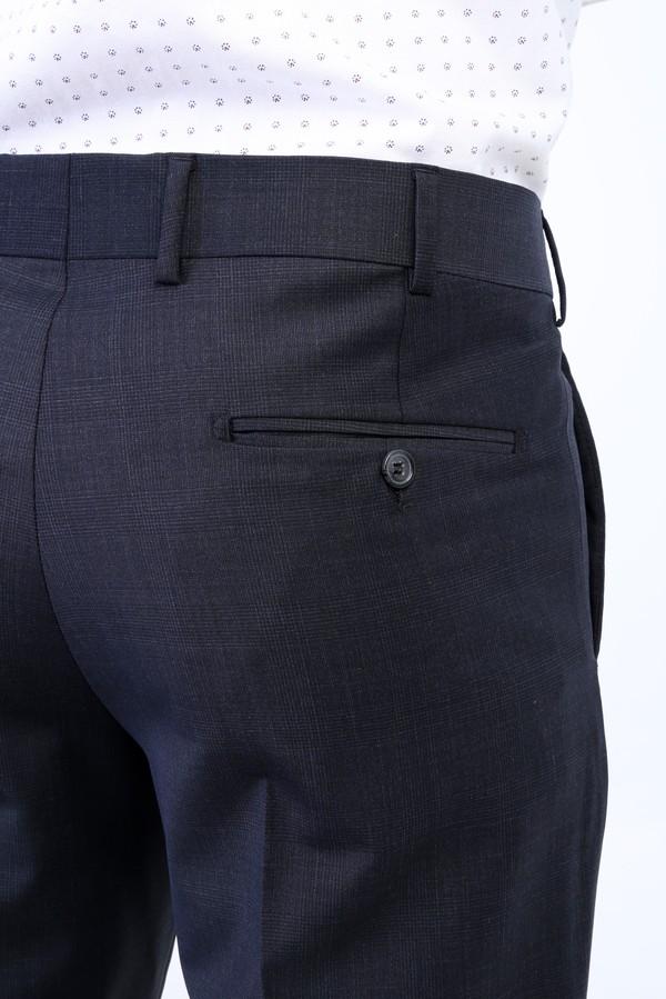Yünlü Ekose Klasik Pantolon