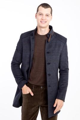 Erkek Giyim - ANTRASİT 3X Beden Yünlü Kaban