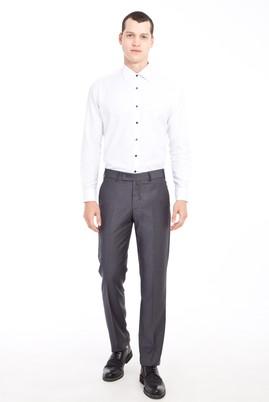 Erkek Giyim - FÜME GRİ 48 Beden Klasik Pantolon