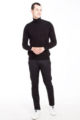Erkek Giyim - SİYAH 46 Beden Slim Fit Spor Pantolon