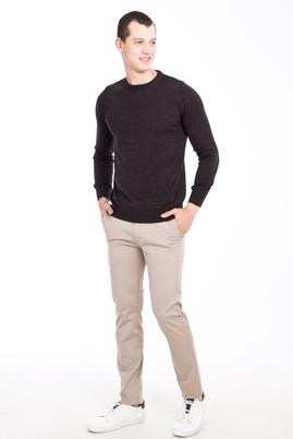 Erkek Giyim - BEJ 46 Beden Slim Fit Spor Pantolon
