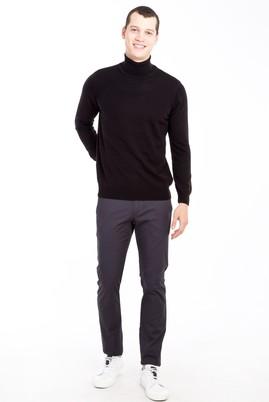 Erkek Giyim - ANTRASİT 46 Beden Slim Fit Spor Pantolon