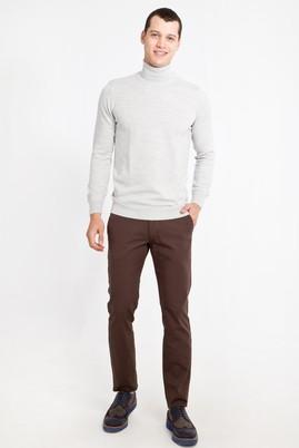 Erkek Giyim - AÇIK KAHVE - CAMEL 46 Beden Slim Fit Spor Pantolon