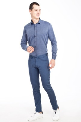 Erkek Giyim - PETROL 56 Beden Slim Fit Spor Pantolon