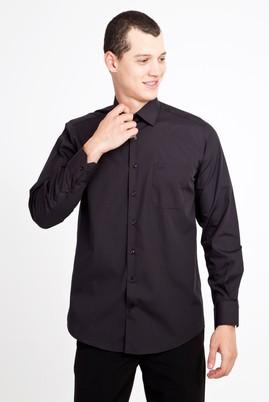 Erkek Giyim - SİYAH M Beden Uzun Kol Klasik Gömlek