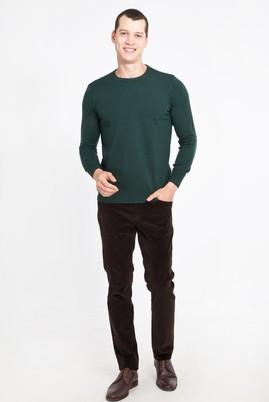 Erkek Giyim - Kahve 52 Beden Kadife Pantolon
