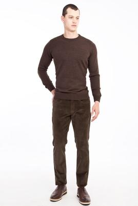 Erkek Giyim - VİZON 54 Beden Kadife Pantolon