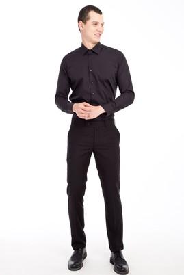 Erkek Giyim - SİYAH 46 Beden Slim Fit Klasik Pantolon