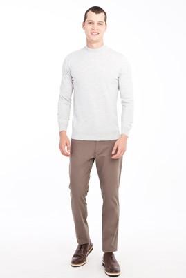 Erkek Giyim - VİZON 50 Beden Desenli Spor Pantolon