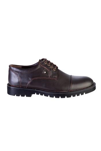 Erkek Giyim - Klasik Bağcıklı Deri Ayakkabı