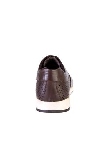 Erkek Giyim - Spor Bağcıklı Deri Ayakkabı