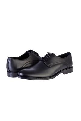 Erkek Giyim - SİYAH 40 Beden Klasik Bağcıklı Ayakkabı