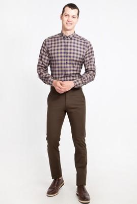 Erkek Giyim - HAKİ 58 Beden Slim Fit Spor Pantolon