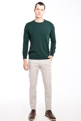 Erkek Giyim - Kum 46 Beden Slim Fit Spor Pantolon