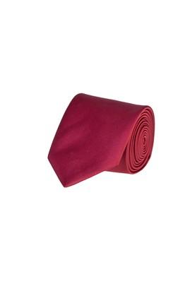 Erkek Giyim - BORDO 70 Beden Düz Saten Kravat