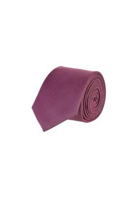 Erkek Giyim - KIRMIZI 65 Beden Desenli Kravat
