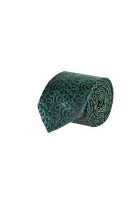 Erkek Giyim - SİYAH  Beden Desenli Kravat