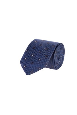 Erkek Giyim - LACİVERT  Beden Desenli Kravat