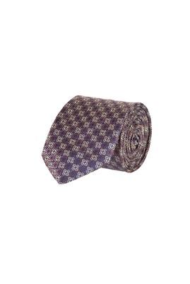 Erkek Giyim - BEYAZ  Beden Desenli Kravat