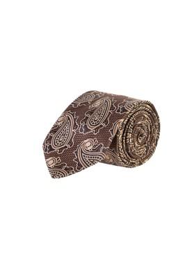 Erkek Giyim - KAHVE  Beden Desenli Kravat