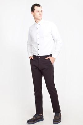 Erkek Giyim - ANTRASİT 54 Beden Desenli Spor Pantolon