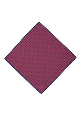 Erkek Giyim - Bordo STD Beden Desenli Mendil