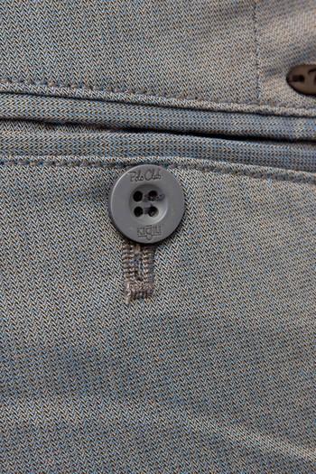 Erkek Giyim - Slim Fit Desenli Spor Pantolon
