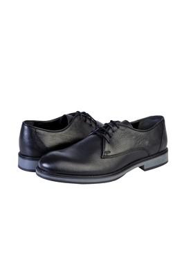 Erkek Giyim - SİYAH 44 Beden Bağcıklı Klasik Ayakkabı