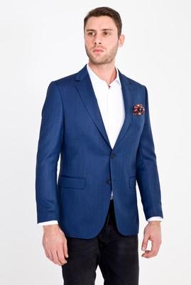 Erkek Giyim - MAVİ 46 Beden Balıksırtı Ceket