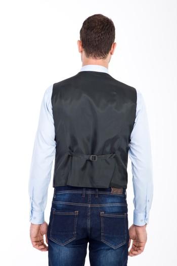 Erkek Giyim - Yünlü Klasik Yelek