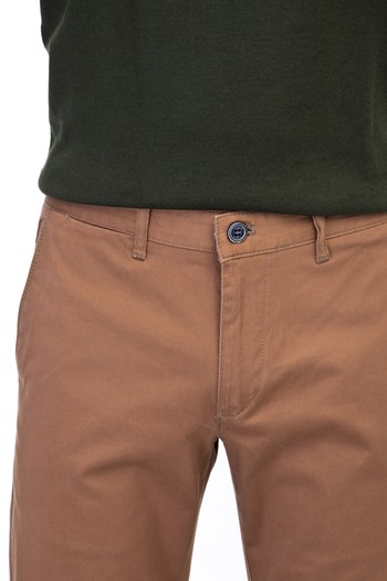 Erkek Giyim - Slim Fit Spor Saten Pantolon