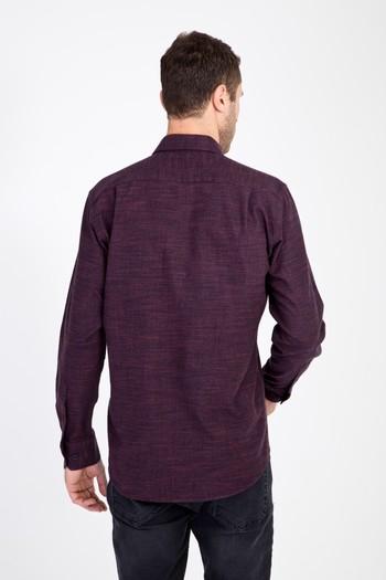 Erkek Giyim - Uzun Kol Oduncu Gömlek