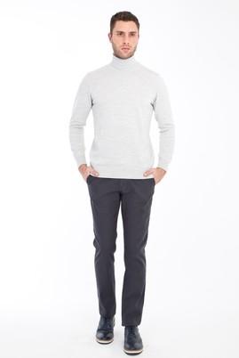 Erkek Giyim - FÜME GRİ 48 Beden Spor Pantolon
